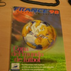 Coleccionismo deportivo - GUIA OFICIAL MUNDIAL FRANCIA 1998 - REVISTA ESPECIAL EXTRA COPA DEL MUNDO FRANCE 98 FIFA WM - 137537890