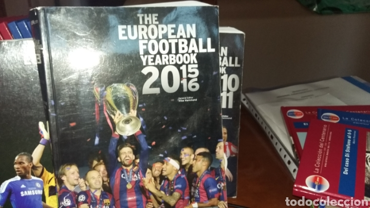 ANUARIO EUROPEO FOOTBALL YEARBOOK 15 16 (Coleccionismo Deportivo - Libros de Fútbol)