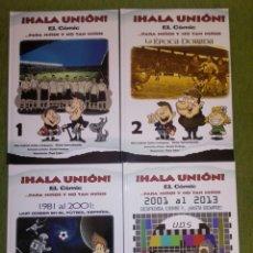 Coleccionismo deportivo: ¡HALA UNIÓN! EL COMIC. HISTORIA DE LA UNIÓN DEPORTIVA SALAMANCA. 4 VOLÚMENES (COMPLETA). Lote 138583892