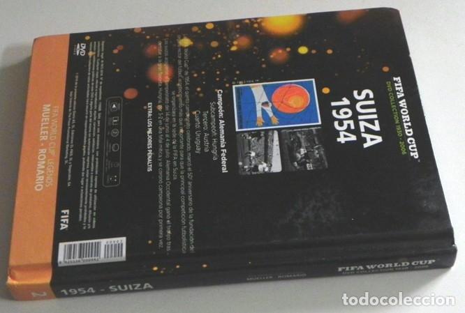 Coleccionismo deportivo: LIBRO DVD SUIZA 1954 FIFA WORLD CUP (ESPAÑOL) ROMARIO MUELLER MUNDIAL DE FÚTBOL MEJ PENALTIS DEPORTE - Foto 7 - 138796142
