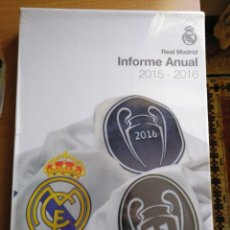 Coleccionismo deportivo: REAL MADRID CF INFORME ANUAL 2015 - 2016 ANUAL REPORT. Lote 138843444