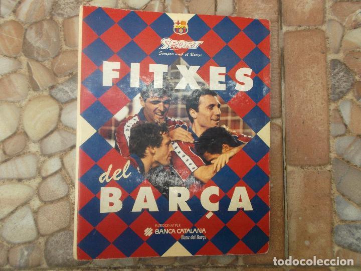 FITXES DEL BARCA SPORT BANCA CATALANA 21 FICHAS (Coleccionismo Deportivo - Libros de Fútbol)