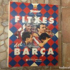 Coleccionismo deportivo: FITXES DEL BARCA SPORT BANCA CATALANA 21 FICHAS. Lote 139714330