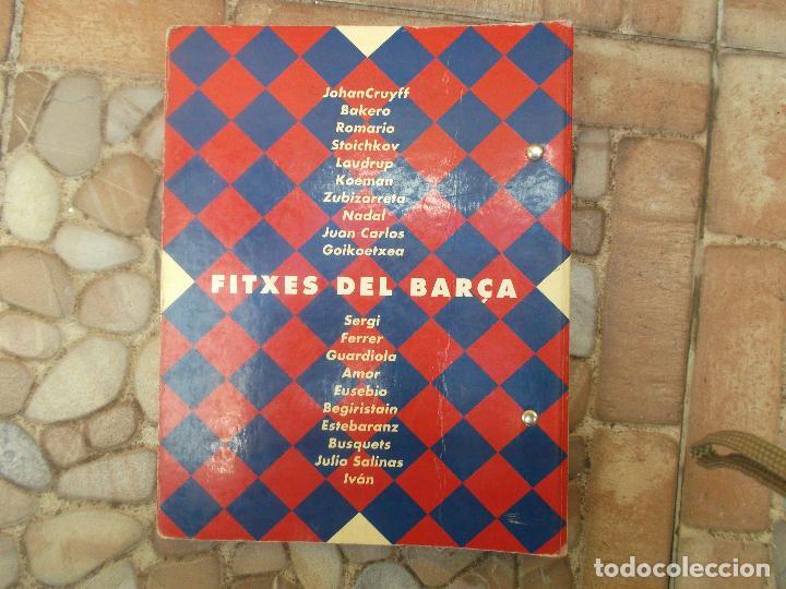Coleccionismo deportivo: FITXES DEL BARCA SPORT BANCA CATALANA 21 FICHAS - Foto 2 - 139714330