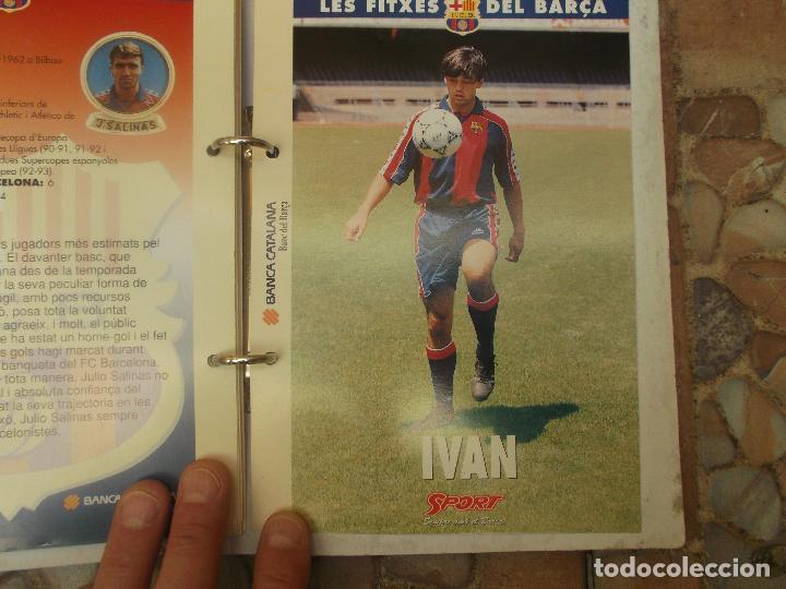 Coleccionismo deportivo: FITXES DEL BARCA SPORT BANCA CATALANA 21 FICHAS - Foto 3 - 139714330