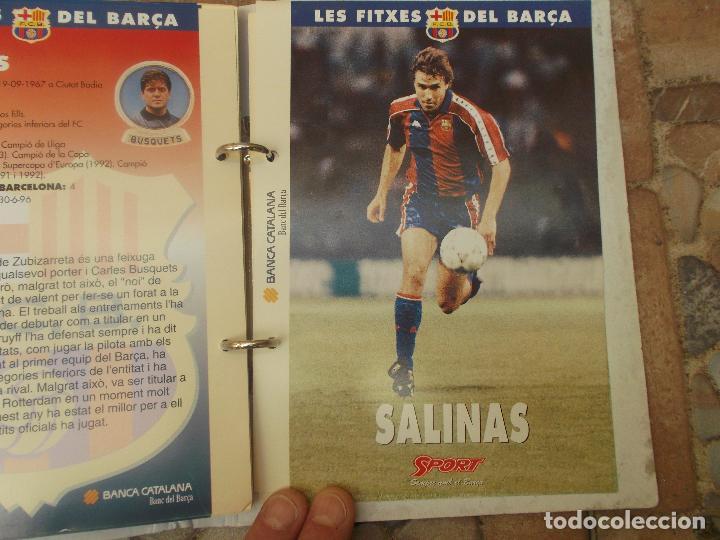 Coleccionismo deportivo: FITXES DEL BARCA SPORT BANCA CATALANA 21 FICHAS - Foto 4 - 139714330