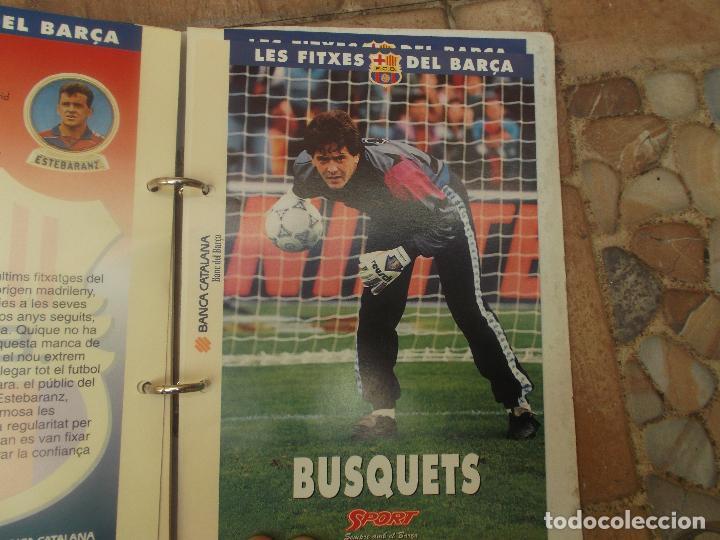 Coleccionismo deportivo: FITXES DEL BARCA SPORT BANCA CATALANA 21 FICHAS - Foto 5 - 139714330