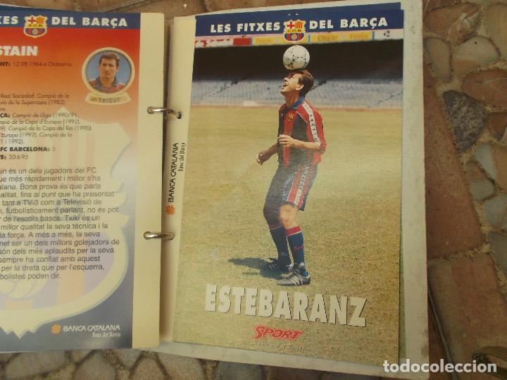 Coleccionismo deportivo: FITXES DEL BARCA SPORT BANCA CATALANA 21 FICHAS - Foto 6 - 139714330