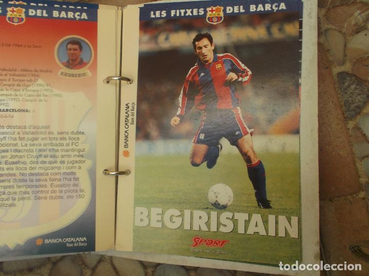 Coleccionismo deportivo: FITXES DEL BARCA SPORT BANCA CATALANA 21 FICHAS - Foto 7 - 139714330