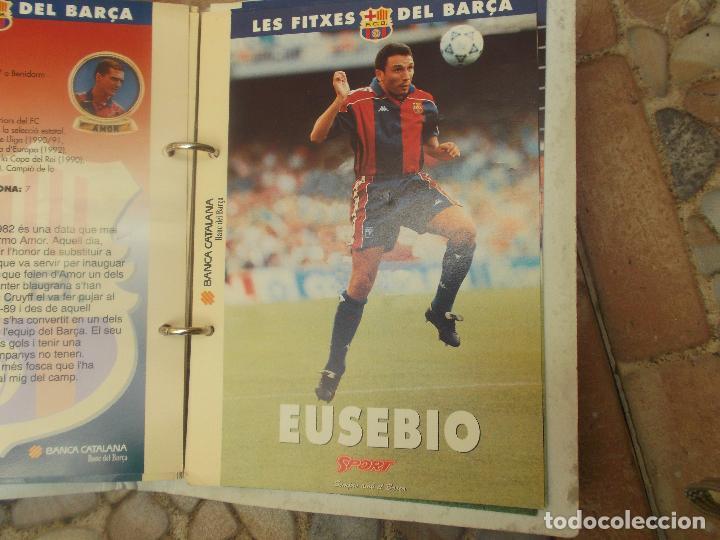 Coleccionismo deportivo: FITXES DEL BARCA SPORT BANCA CATALANA 21 FICHAS - Foto 8 - 139714330