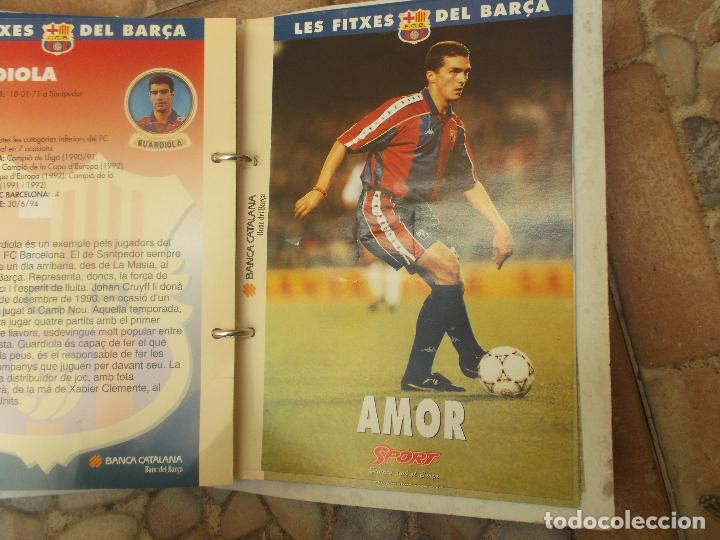 Coleccionismo deportivo: FITXES DEL BARCA SPORT BANCA CATALANA 21 FICHAS - Foto 9 - 139714330