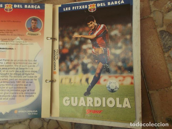 Coleccionismo deportivo: FITXES DEL BARCA SPORT BANCA CATALANA 21 FICHAS - Foto 10 - 139714330