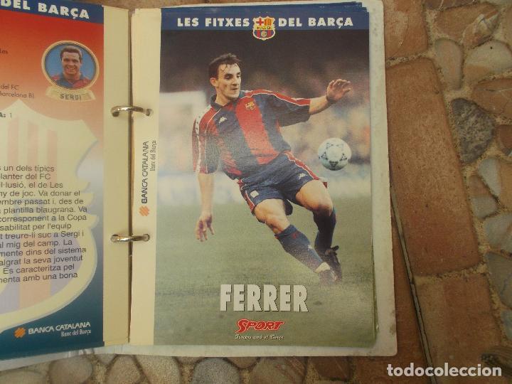 Coleccionismo deportivo: FITXES DEL BARCA SPORT BANCA CATALANA 21 FICHAS - Foto 11 - 139714330