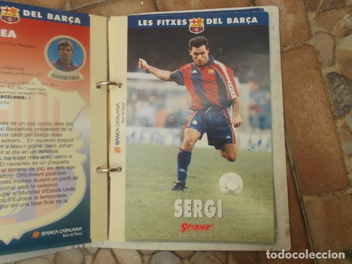 Coleccionismo deportivo: FITXES DEL BARCA SPORT BANCA CATALANA 21 FICHAS - Foto 12 - 139714330