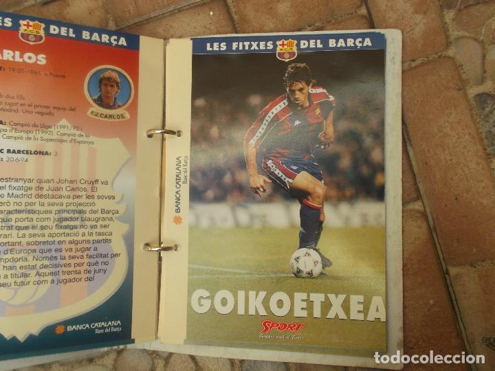 Coleccionismo deportivo: FITXES DEL BARCA SPORT BANCA CATALANA 21 FICHAS - Foto 13 - 139714330
