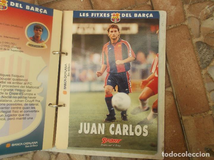 Coleccionismo deportivo: FITXES DEL BARCA SPORT BANCA CATALANA 21 FICHAS - Foto 14 - 139714330