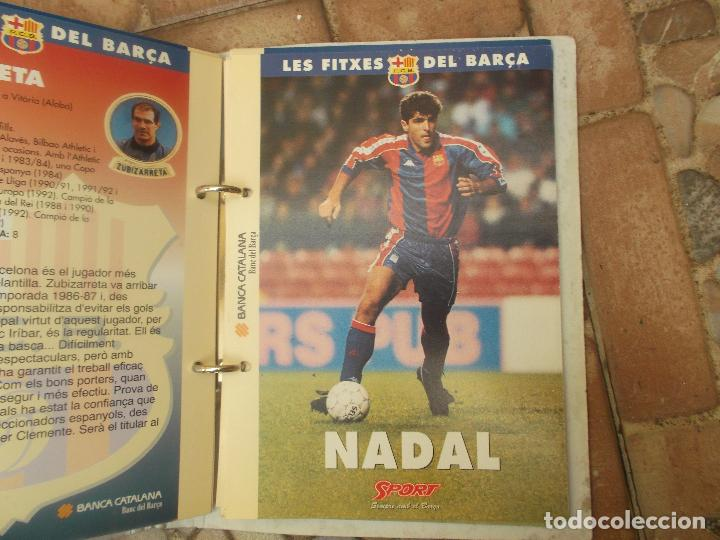 Coleccionismo deportivo: FITXES DEL BARCA SPORT BANCA CATALANA 21 FICHAS - Foto 15 - 139714330