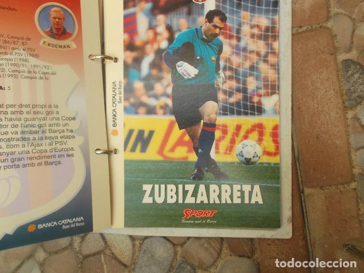 Coleccionismo deportivo: FITXES DEL BARCA SPORT BANCA CATALANA 21 FICHAS - Foto 16 - 139714330