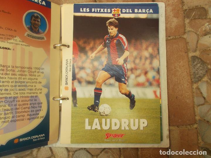 Coleccionismo deportivo: FITXES DEL BARCA SPORT BANCA CATALANA 21 FICHAS - Foto 18 - 139714330