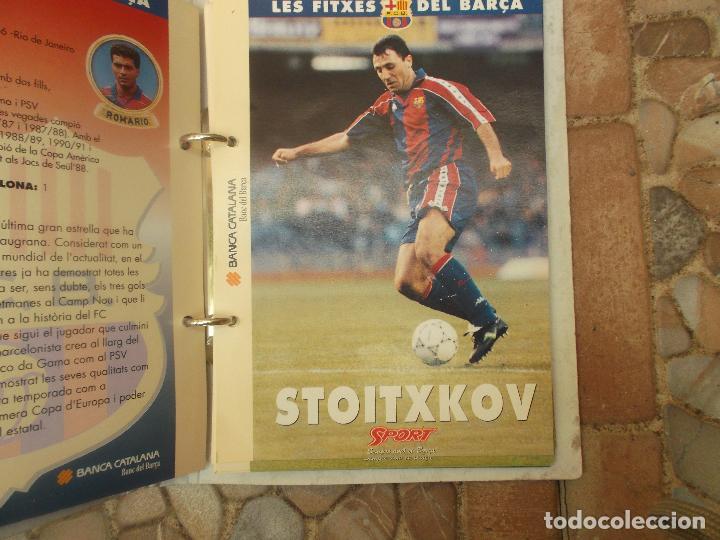 Coleccionismo deportivo: FITXES DEL BARCA SPORT BANCA CATALANA 21 FICHAS - Foto 19 - 139714330
