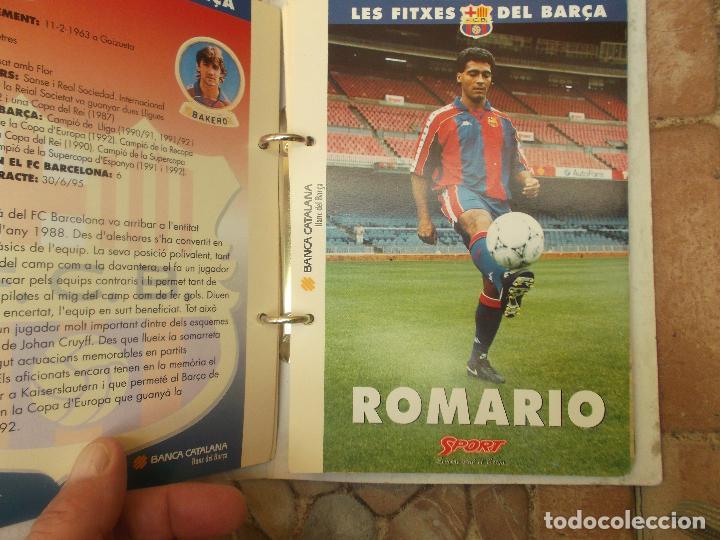 Coleccionismo deportivo: FITXES DEL BARCA SPORT BANCA CATALANA 21 FICHAS - Foto 20 - 139714330