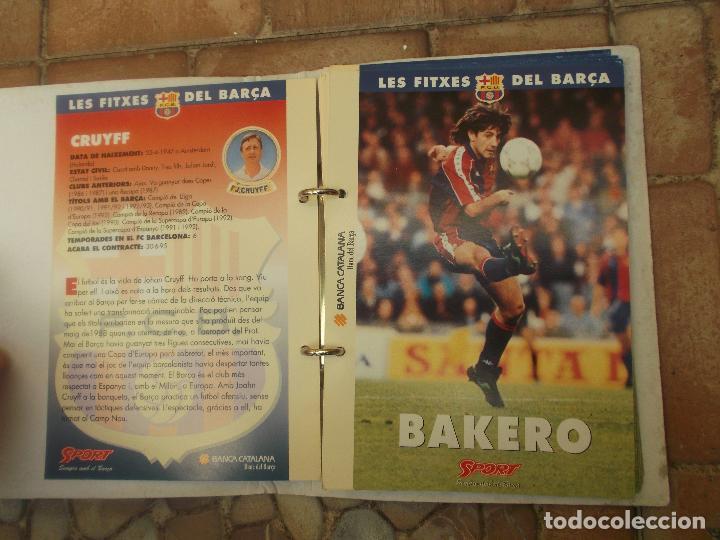 Coleccionismo deportivo: FITXES DEL BARCA SPORT BANCA CATALANA 21 FICHAS - Foto 21 - 139714330
