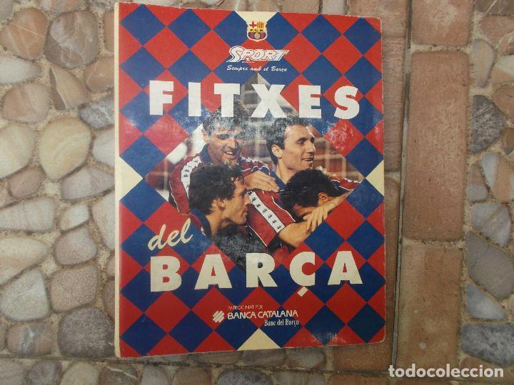Coleccionismo deportivo: FITXES DEL BARCA SPORT BANCA CATALANA 21 FICHAS - Foto 23 - 139714330