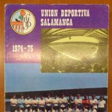 Collectionnisme sportif: UNION DEPORTIVA SALAMANCA, 1974 - 1975, POR CARLOS GIL-PEREZ, ED. M.A.S.. Lote 140757898