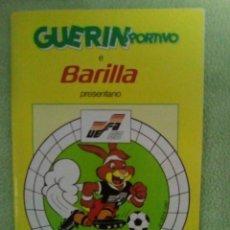Coleccionismo deportivo: GUIA EURO 88 GUERIN SPORTIVO EUROCOPA 88. Lote 141306270