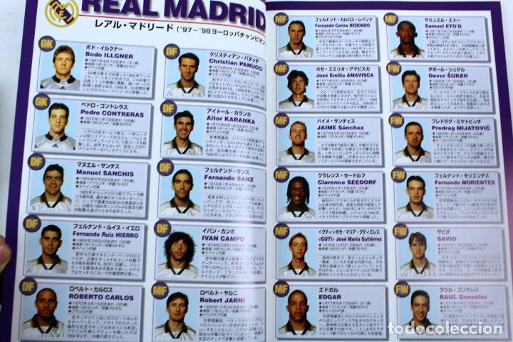Coleccionismo deportivo: PO-28.PROGRAMA OFICIAL FINAL TOYOTA CUP, 1 DICIEMBRE 1998 REAL MADRID 2-1 VASCO DA GAMA. EN JAPONÉS - Foto 6 - 141575042