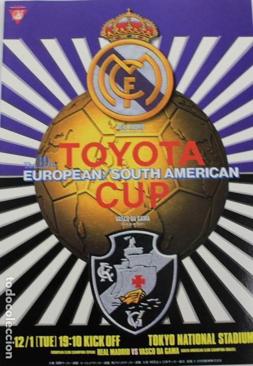PO-28.PROGRAMA OFICIAL FINAL TOYOTA CUP, 1 DICIEMBRE 1998 REAL MADRID 2-1 VASCO DA GAMA. EN JAPONÉS (Coleccionismo Deportivo - Libros de Fútbol)
