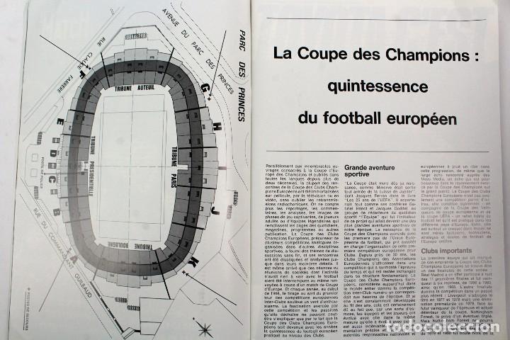 Coleccionismo deportivo: PO-27.PROGRAMA OFICIAL FINAL COPA DE EUROPA DE CLUBS 27 DE MAYO 1981. REAL MADRID . LIVERPOOL F.C. - Foto 4 - 141576114