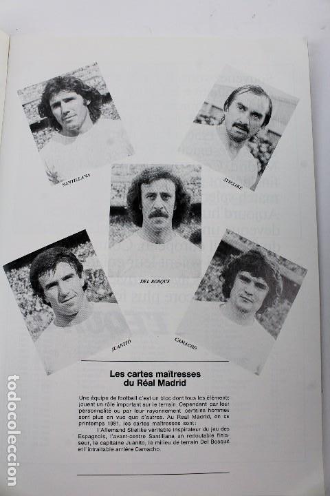 Coleccionismo deportivo: PO-27.PROGRAMA OFICIAL FINAL COPA DE EUROPA DE CLUBS 27 DE MAYO 1981. REAL MADRID . LIVERPOOL F.C. - Foto 6 - 141576114