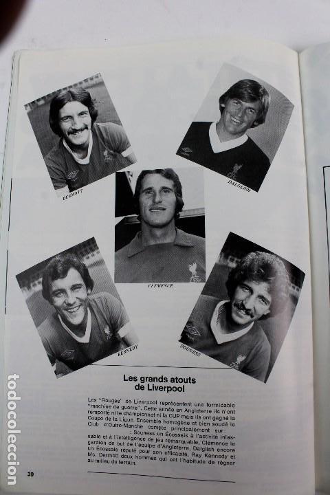 Coleccionismo deportivo: PO-27.PROGRAMA OFICIAL FINAL COPA DE EUROPA DE CLUBS 27 DE MAYO 1981. REAL MADRID . LIVERPOOL F.C. - Foto 10 - 141576114