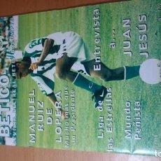 Coleccionismo deportivo: REVISTA ANTIGUA MUNDO BÉTICO 1999. Lote 141776154