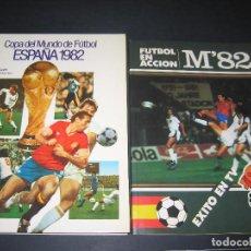 Coleccionismo deportivo: COLECCIÓN MUNDIAL DE FUTBOL 1982 - 2 LIBROS. Lote 142243290