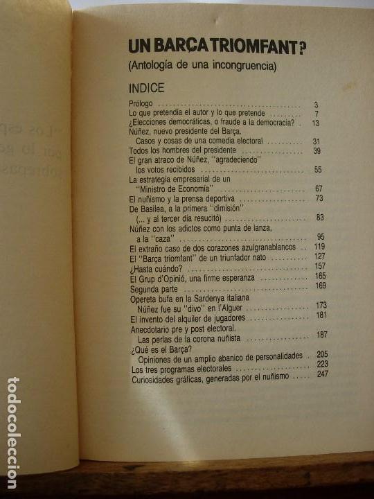 Coleccionismo deportivo: UN BARÇA TRIOMFANT? / MORERA FALCO / BARÇA - Foto 2 - 143028370