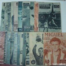Coleccionismo deportivo: LOTE DE 22 REVISTAS COLECCIÓN IDOLOS DEL DEPORTE ,TODAS NÚMEROS DIFERENTES.. Lote 143307298