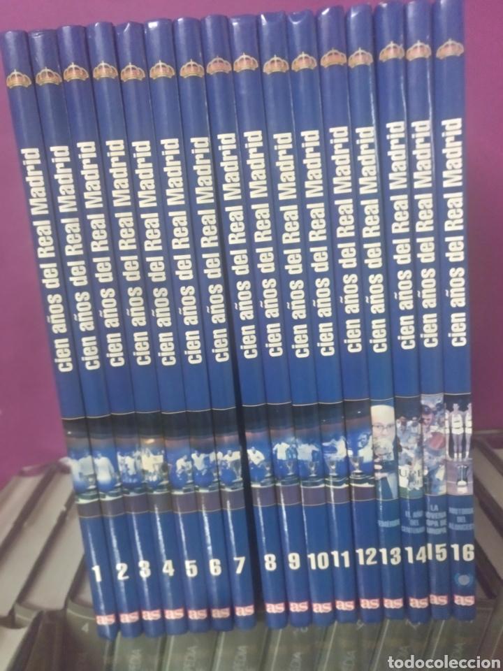 CIEN AÑOS DEL REAL MADRID COLECCION 16 TOMOS (Coleccionismo Deportivo - Libros de Fútbol)