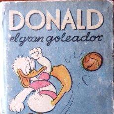 Coleccionismo deportivo: FUT-44. DONALD EL GRAN GOLEADOR. WALT DISNEY. EDIT. ABRIL. BUENOS AIRES. 1ª EDICIÓN. AÑO 1947.. Lote 143881682