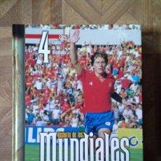 Coleccionismo deportivo: HISTORIA DE LOS MUNDIALES DE FÚTBOL - 4 TOMOS. Lote 143975710