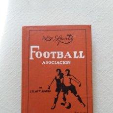 Coleccionismo deportivo: FOOTBALL ASOCIACION. J.ELIAS Y JUNCOSA. 1914.. Lote 143725614