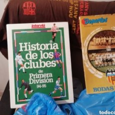 Coleccionismo deportivo: HISTORIA CLUBES FÚTBOL 1 DIVISIÓN 94 - 95. INTERVIU. Lote 144408426