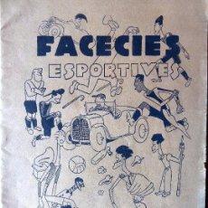 Coleccionismo deportivo: FUT-74. FACECIES ESPORTIVES. APLEC D'HISTORIETES ORIGINALS DE VALENTÍ CASTANYS. . Lote 144578366