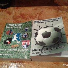 Coleccionismo deportivo: ANNUARIO DEL CALCIO INTERNAZIONALE 2017/2018. Lote 144639546