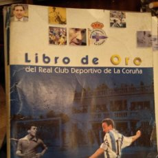 Coleccionismo deportivo: LIBRO DE ORO REAL CLUB DEPORTIVO DE LA CORUÑA. VOZ DE GALICIA. Lote 145329634