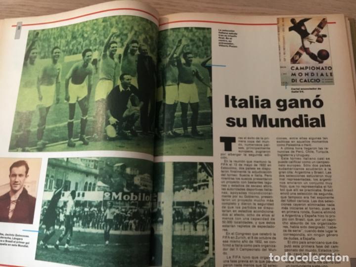 Coleccionismo deportivo: LOS MUNDIALES DEL FÚTBOL. EL FUTBOL PRIMITIVO. SERIE DE 16 FASCICULOS DEL Nº 1 AL 16 ENCUADERNADO - Foto 2 - 146377038