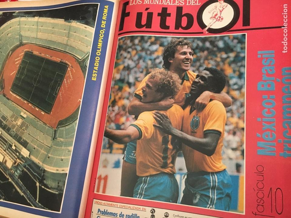 Coleccionismo deportivo: LOS MUNDIALES DEL FÚTBOL. EL FUTBOL PRIMITIVO. SERIE DE 16 FASCICULOS DEL Nº 1 AL 16 ENCUADERNADO - Foto 3 - 146377038