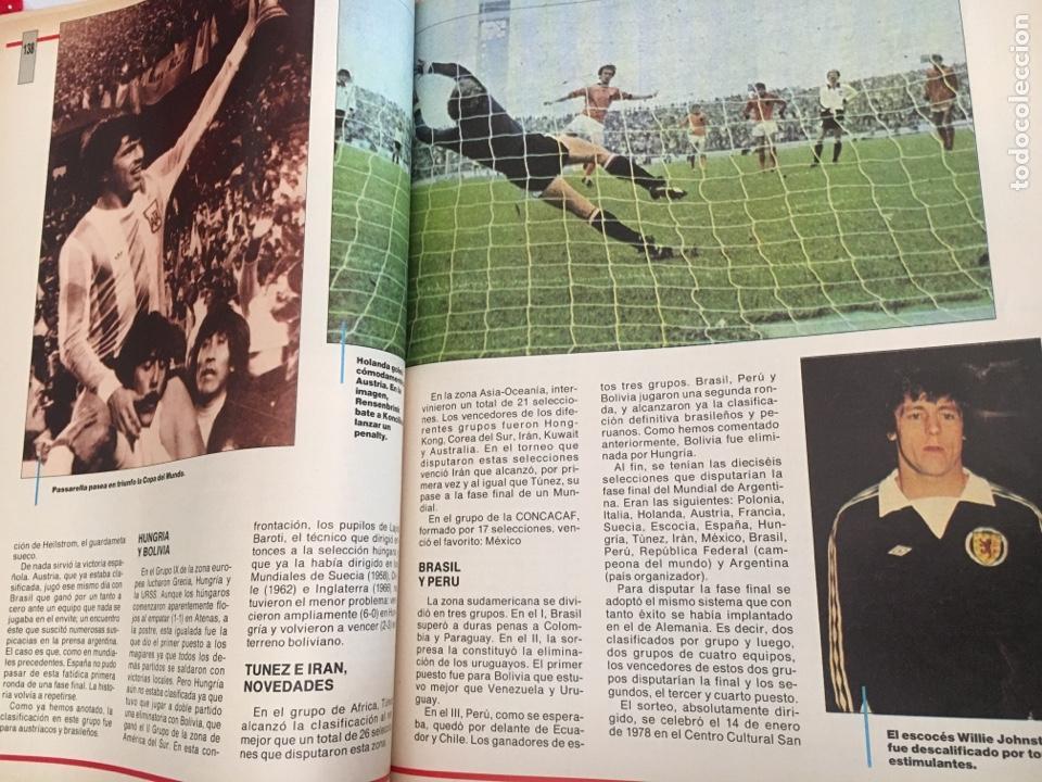 Coleccionismo deportivo: LOS MUNDIALES DEL FÚTBOL. EL FUTBOL PRIMITIVO. SERIE DE 16 FASCICULOS DEL Nº 1 AL 16 ENCUADERNADO - Foto 4 - 146377038