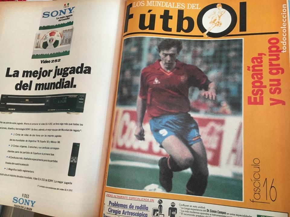 Coleccionismo deportivo: LOS MUNDIALES DEL FÚTBOL. EL FUTBOL PRIMITIVO. SERIE DE 16 FASCICULOS DEL Nº 1 AL 16 ENCUADERNADO - Foto 5 - 146377038
